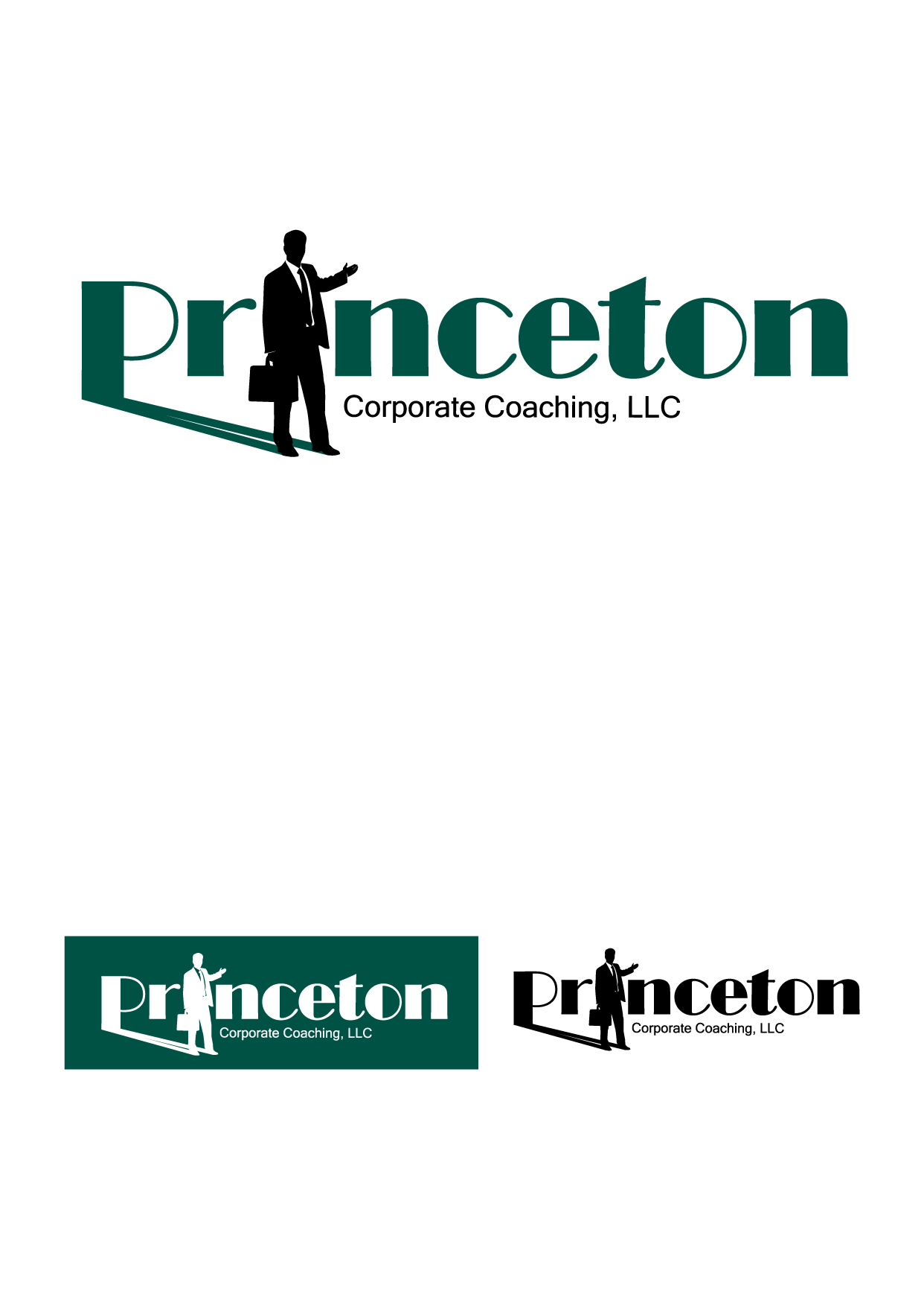 Logo Design by Wilfredo Mendoza - Entry No. 55 in the Logo Design Contest Unique Logo Design Wanted for Princeton Corporate Coaching, LLC.