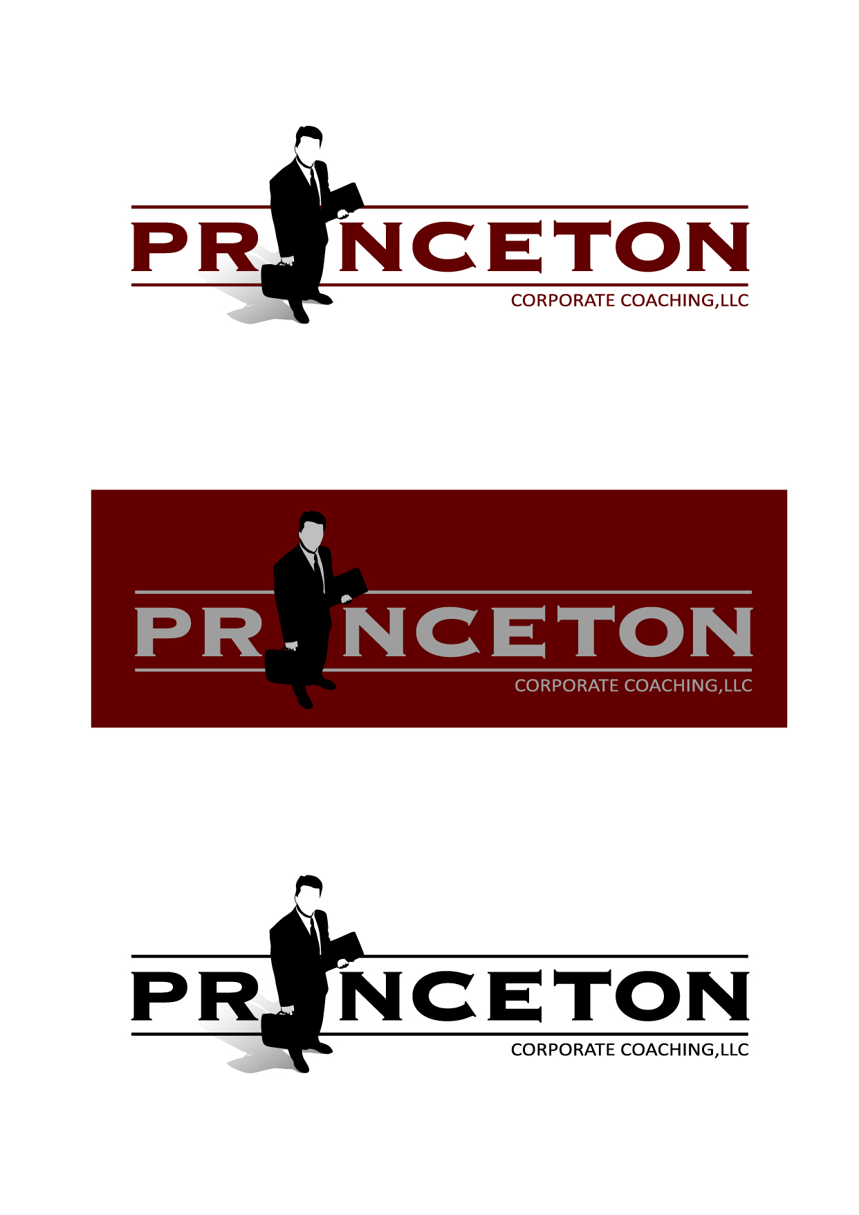 Logo Design by Wilfredo Mendoza - Entry No. 57 in the Logo Design Contest Unique Logo Design Wanted for Princeton Corporate Coaching, LLC.