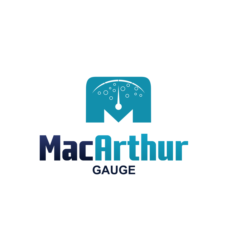 Logo Design by moisesf - Entry No. 153 in the Logo Design Contest Fun Logo Design for MacArthur Gauge.