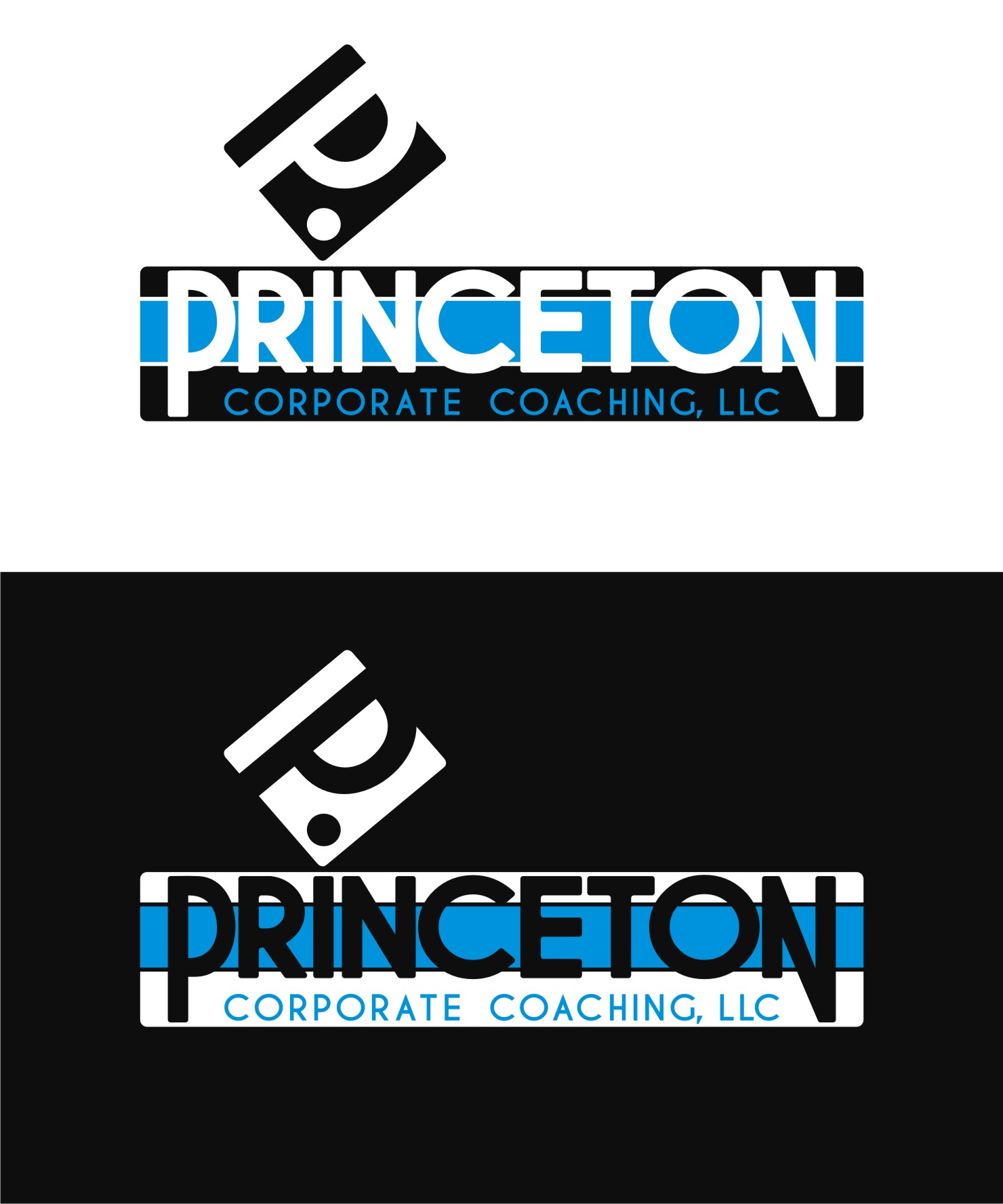 Logo Design by Private User - Entry No. 65 in the Logo Design Contest Unique Logo Design Wanted for Princeton Corporate Coaching, LLC.