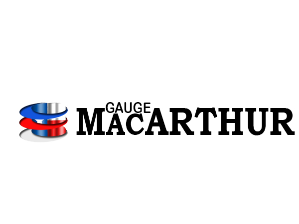 Logo Design by Mythos Designs - Entry No. 162 in the Logo Design Contest Fun Logo Design for MacArthur Gauge.