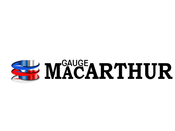 Logo Design by Mythos Designs - Entry No. 163 in the Logo Design Contest Fun Logo Design for MacArthur Gauge.
