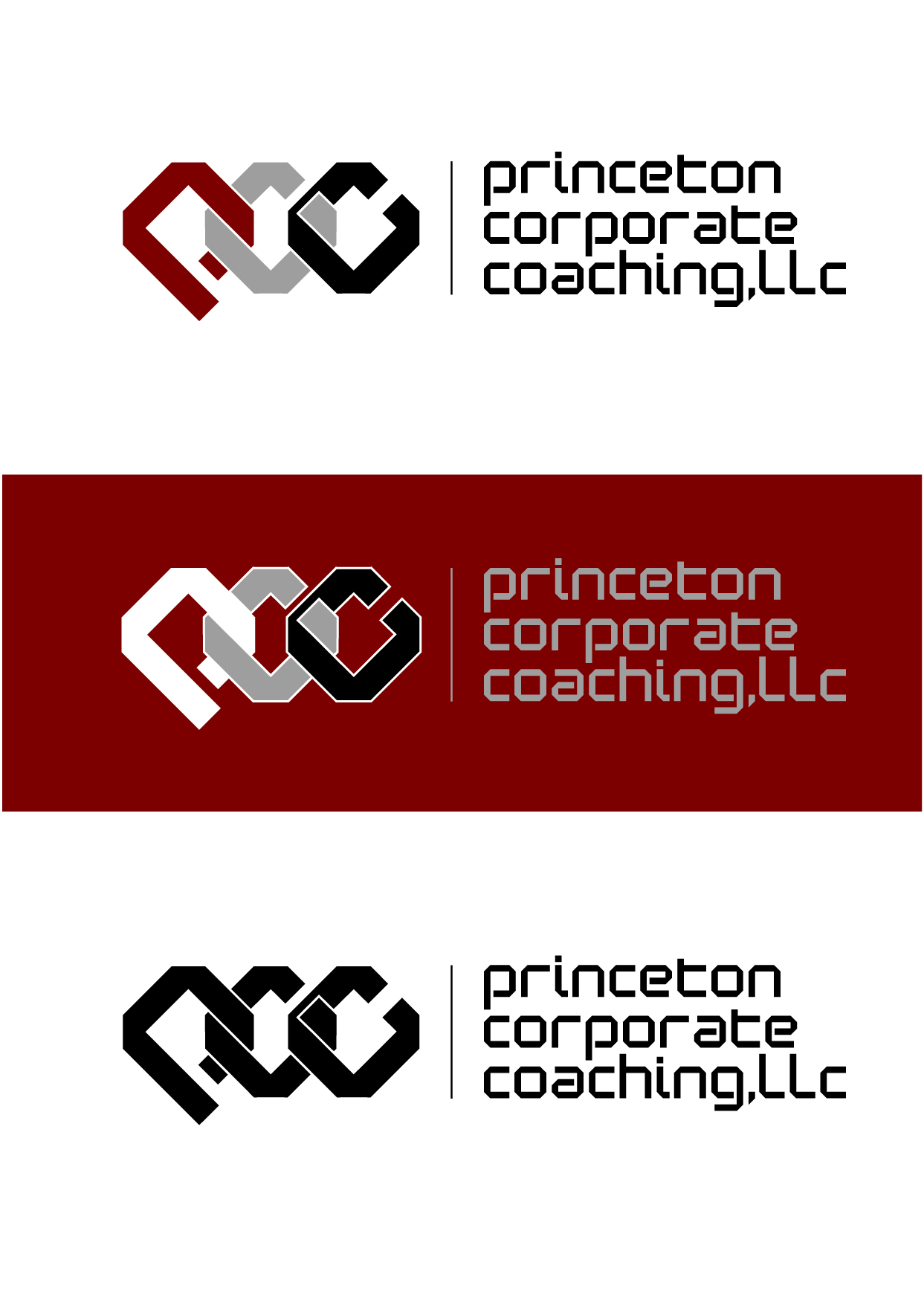 Logo Design by Wilfredo Mendoza - Entry No. 74 in the Logo Design Contest Unique Logo Design Wanted for Princeton Corporate Coaching, LLC.