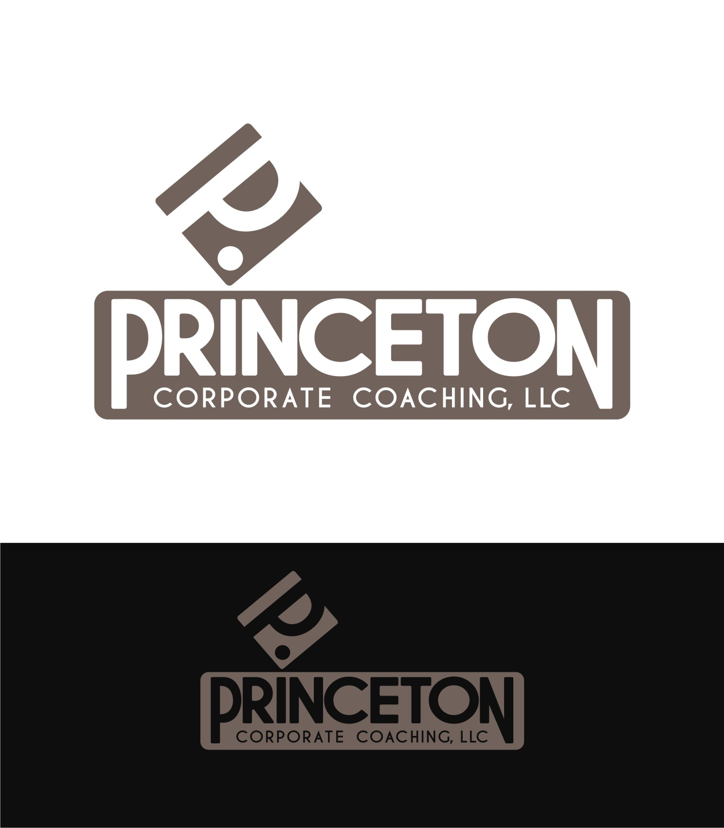 Logo Design by Private User - Entry No. 78 in the Logo Design Contest Unique Logo Design Wanted for Princeton Corporate Coaching, LLC.