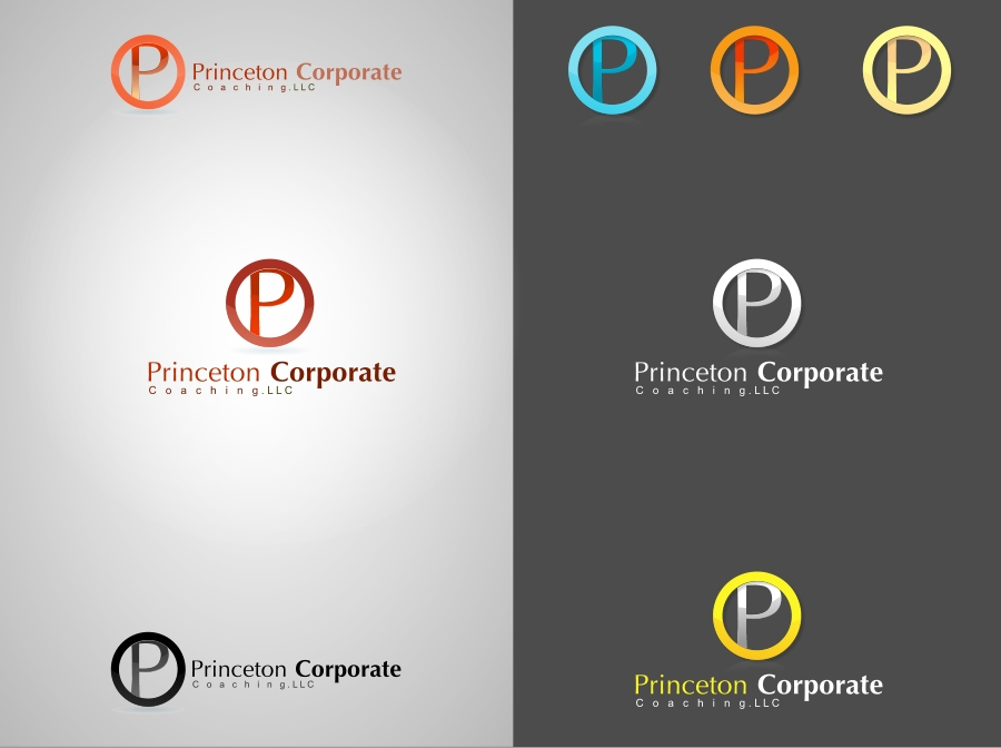 Logo Design by Private User - Entry No. 81 in the Logo Design Contest Unique Logo Design Wanted for Princeton Corporate Coaching, LLC.