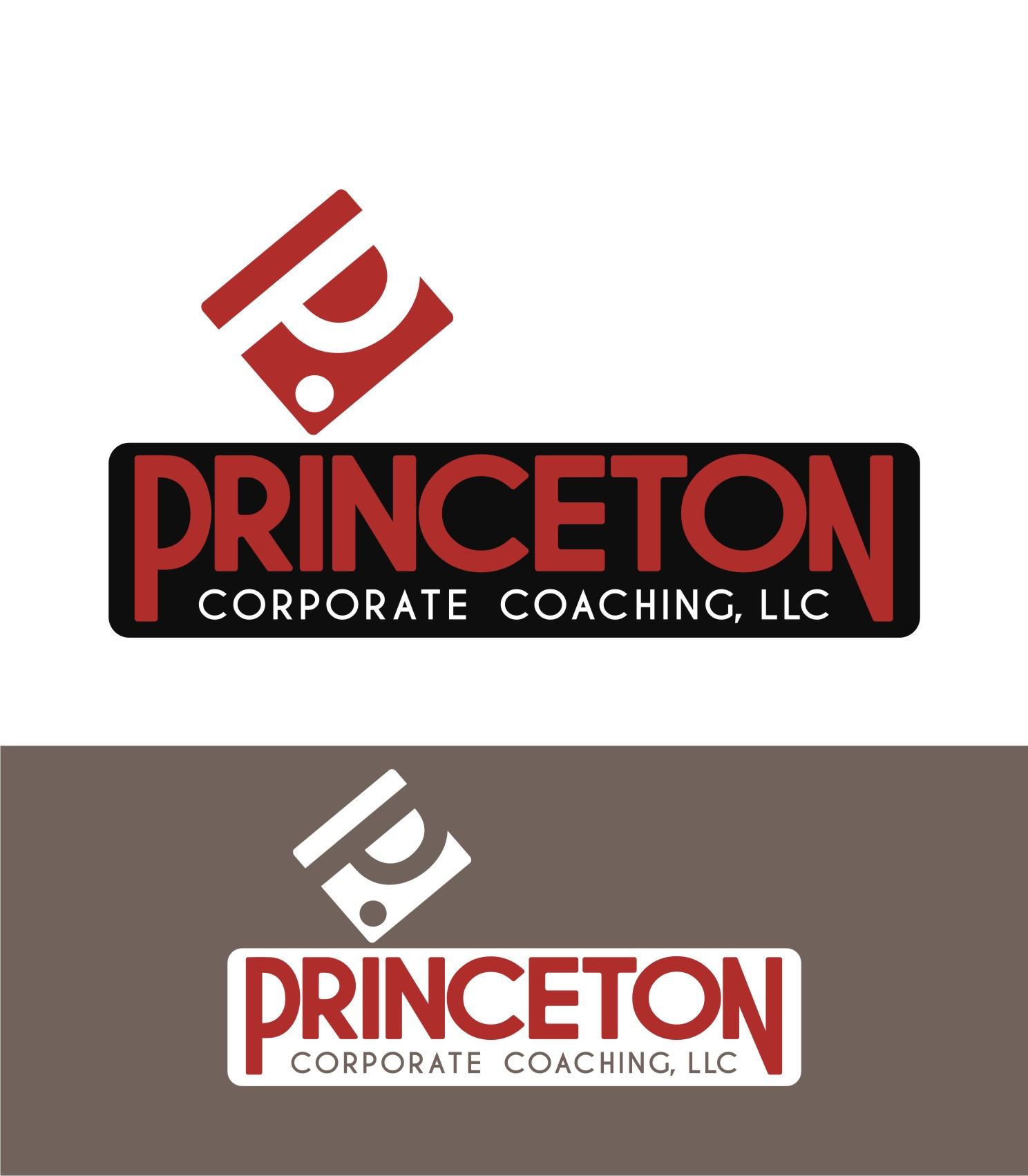 Logo Design by Private User - Entry No. 83 in the Logo Design Contest Unique Logo Design Wanted for Princeton Corporate Coaching, LLC.