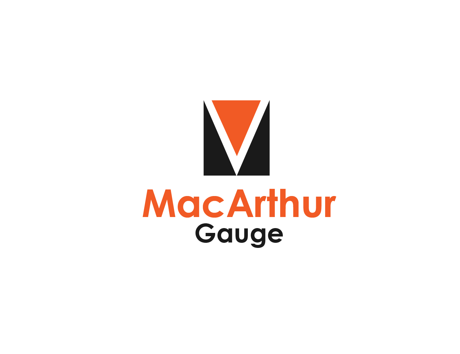 Logo Design by 3draw - Entry No. 167 in the Logo Design Contest Fun Logo Design for MacArthur Gauge.