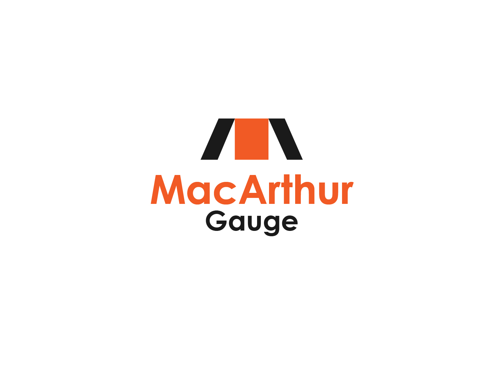 Logo Design by 3draw - Entry No. 168 in the Logo Design Contest Fun Logo Design for MacArthur Gauge.