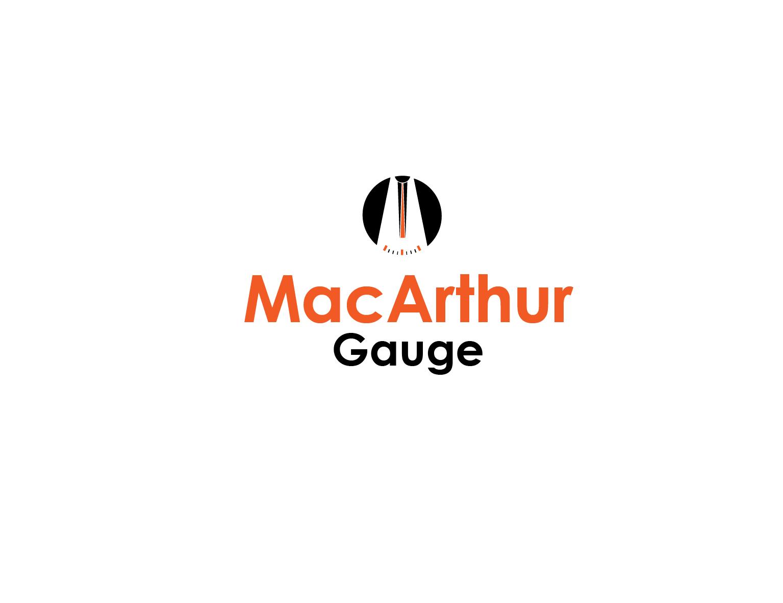 Logo Design by 3draw - Entry No. 172 in the Logo Design Contest Fun Logo Design for MacArthur Gauge.