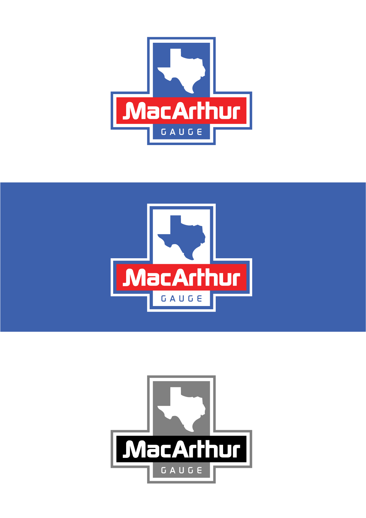 Logo Design by Wilfredo Mendoza - Entry No. 175 in the Logo Design Contest Fun Logo Design for MacArthur Gauge.