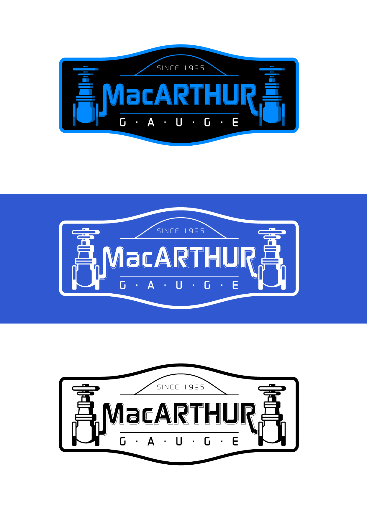 Logo Design by Wilfredo Mendoza - Entry No. 176 in the Logo Design Contest Fun Logo Design for MacArthur Gauge.