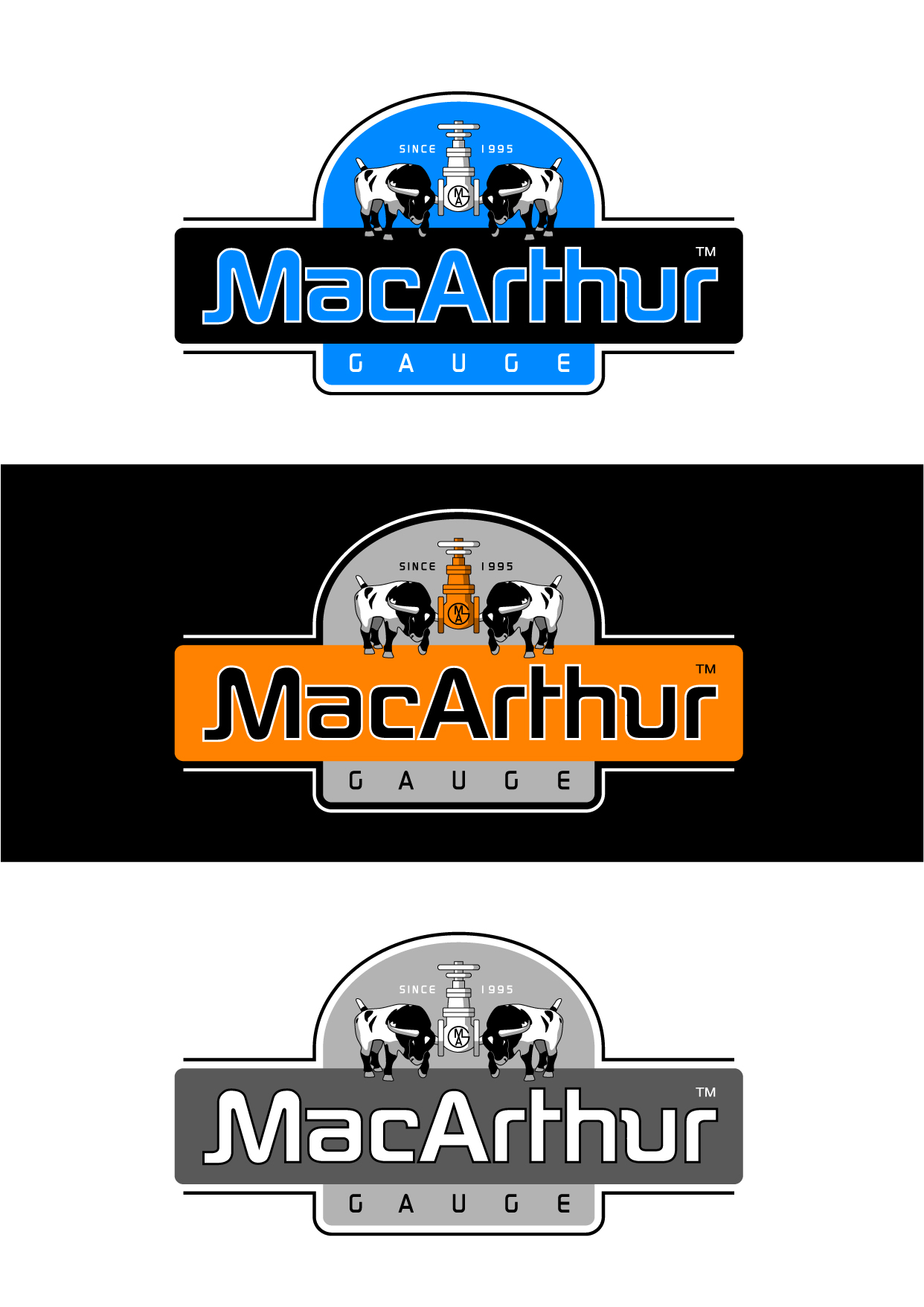 Logo Design by Wilfredo Mendoza - Entry No. 178 in the Logo Design Contest Fun Logo Design for MacArthur Gauge.