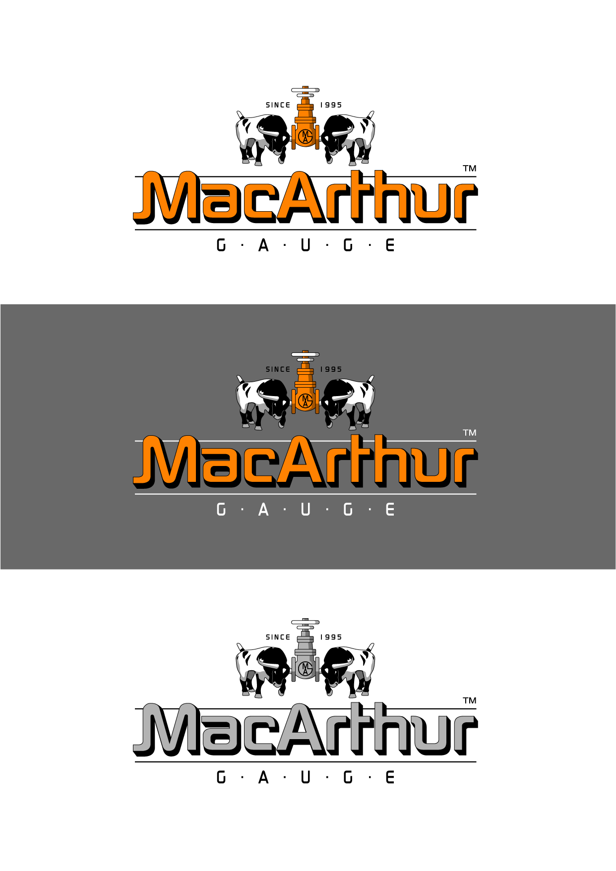 Logo Design by Wilfredo Mendoza - Entry No. 179 in the Logo Design Contest Fun Logo Design for MacArthur Gauge.
