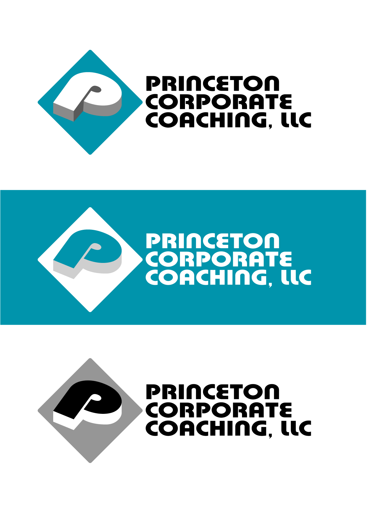 Logo Design by Wilfredo Mendoza - Entry No. 89 in the Logo Design Contest Unique Logo Design Wanted for Princeton Corporate Coaching, LLC.