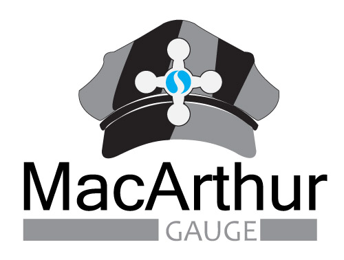 Logo Design by Ladilon Tugas - Entry No. 181 in the Logo Design Contest Fun Logo Design for MacArthur Gauge.