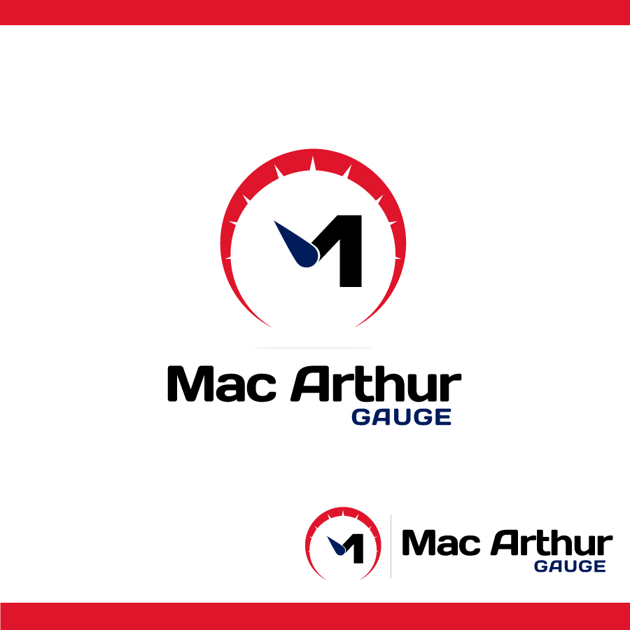 Logo Design by Edward Goodwin - Entry No. 190 in the Logo Design Contest Fun Logo Design for MacArthur Gauge.