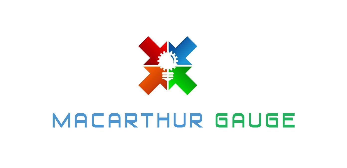 Logo Design by Zemzoumi Radouane - Entry No. 191 in the Logo Design Contest Fun Logo Design for MacArthur Gauge.
