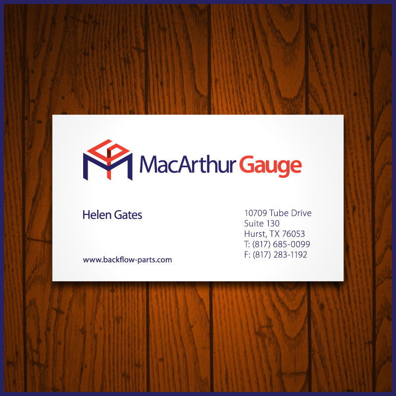 Logo Design by Number-Eight-Design - Entry No. 197 in the Logo Design Contest Fun Logo Design for MacArthur Gauge.