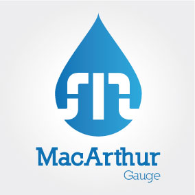 Logo Design by Cécile Viger - Entry No. 199 in the Logo Design Contest Fun Logo Design for MacArthur Gauge.