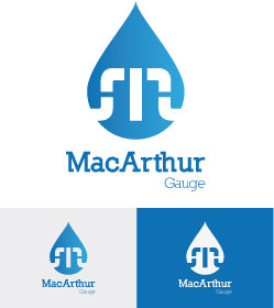 Logo Design by Cécile Viger - Entry No. 200 in the Logo Design Contest Fun Logo Design for MacArthur Gauge.