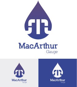Logo Design by Cécile Viger - Entry No. 201 in the Logo Design Contest Fun Logo Design for MacArthur Gauge.