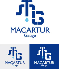 Logo Design by Cécile Viger - Entry No. 203 in the Logo Design Contest Fun Logo Design for MacArthur Gauge.