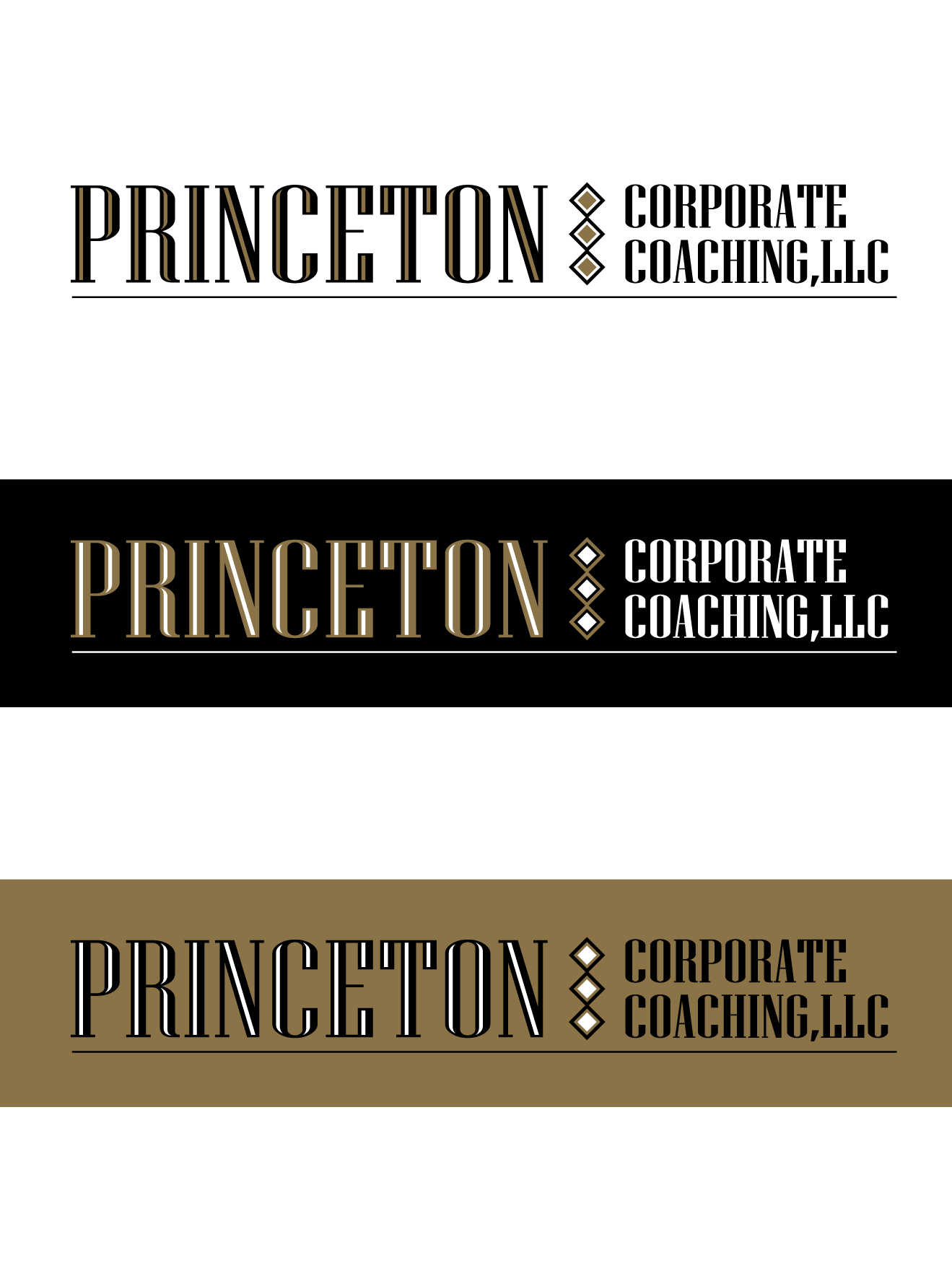 Logo Design by Wilfredo Mendoza - Entry No. 123 in the Logo Design Contest Unique Logo Design Wanted for Princeton Corporate Coaching, LLC.