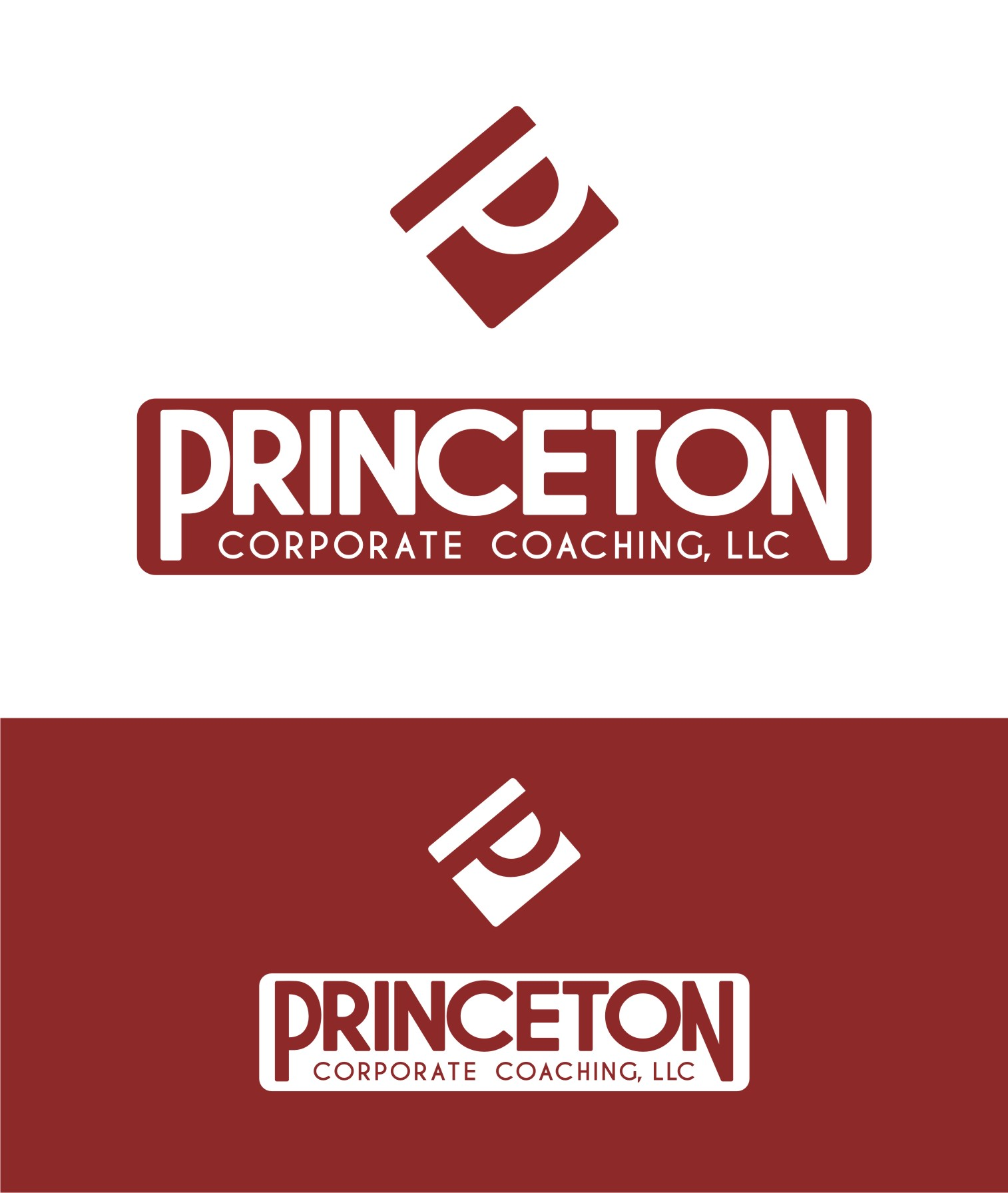 Logo Design by Private User - Entry No. 131 in the Logo Design Contest Unique Logo Design Wanted for Princeton Corporate Coaching, LLC.