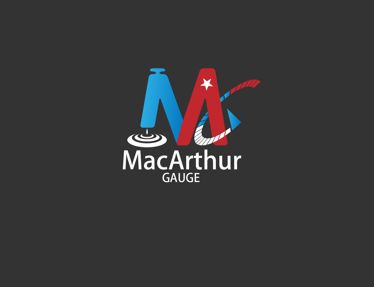 Logo Design by 3draw - Entry No. 214 in the Logo Design Contest Fun Logo Design for MacArthur Gauge.