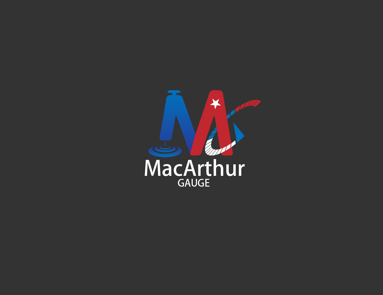 Logo Design by 3draw - Entry No. 215 in the Logo Design Contest Fun Logo Design for MacArthur Gauge.