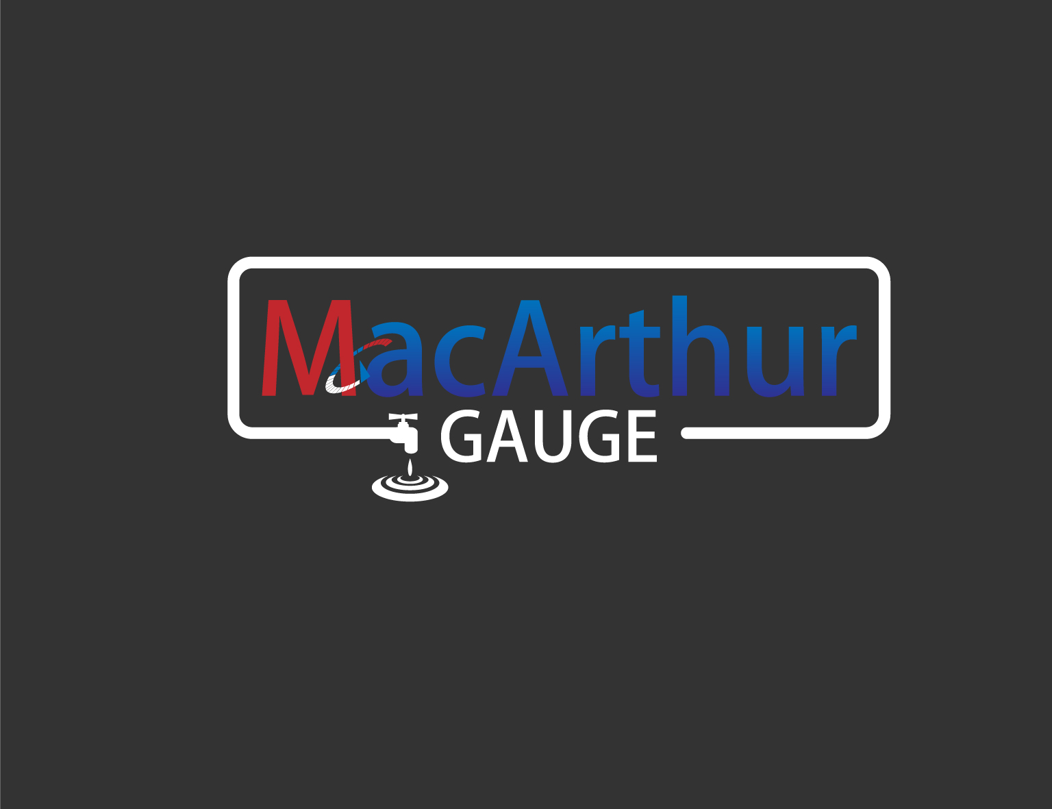 Logo Design by 3draw - Entry No. 216 in the Logo Design Contest Fun Logo Design for MacArthur Gauge.