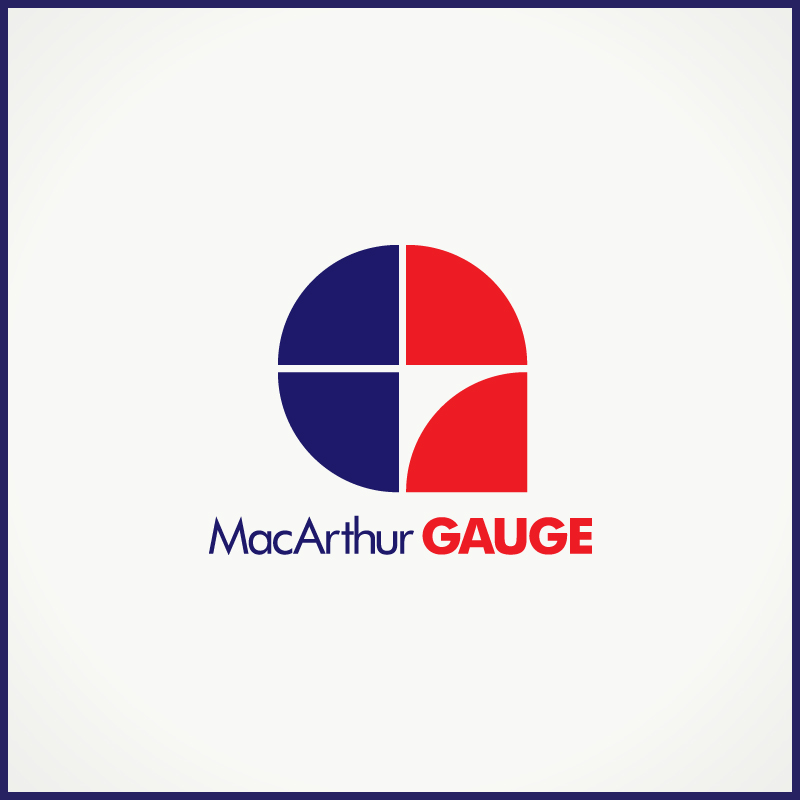 Logo Design by Number-Eight-Design - Entry No. 217 in the Logo Design Contest Fun Logo Design for MacArthur Gauge.
