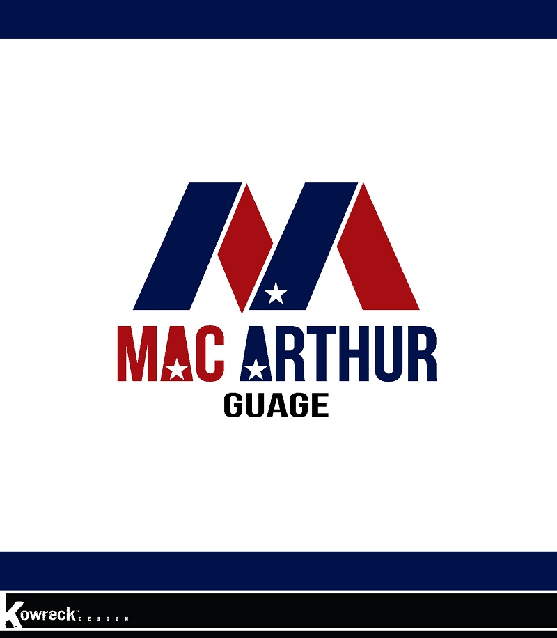 Logo Design by kowreck - Entry No. 220 in the Logo Design Contest Fun Logo Design for MacArthur Gauge.