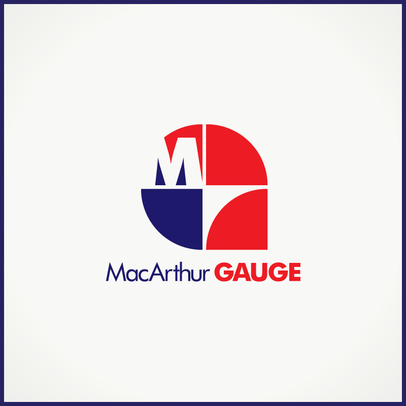 Logo Design by Number-Eight-Design - Entry No. 222 in the Logo Design Contest Fun Logo Design for MacArthur Gauge.