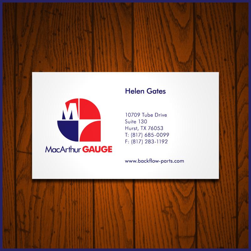 Logo Design by Number-Eight-Design - Entry No. 223 in the Logo Design Contest Fun Logo Design for MacArthur Gauge.