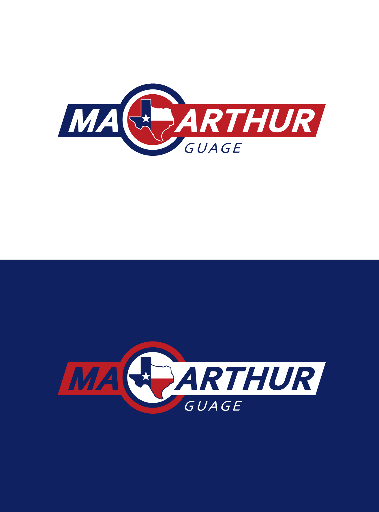 Logo Design by Wilfredo Mendoza - Entry No. 224 in the Logo Design Contest Fun Logo Design for MacArthur Gauge.