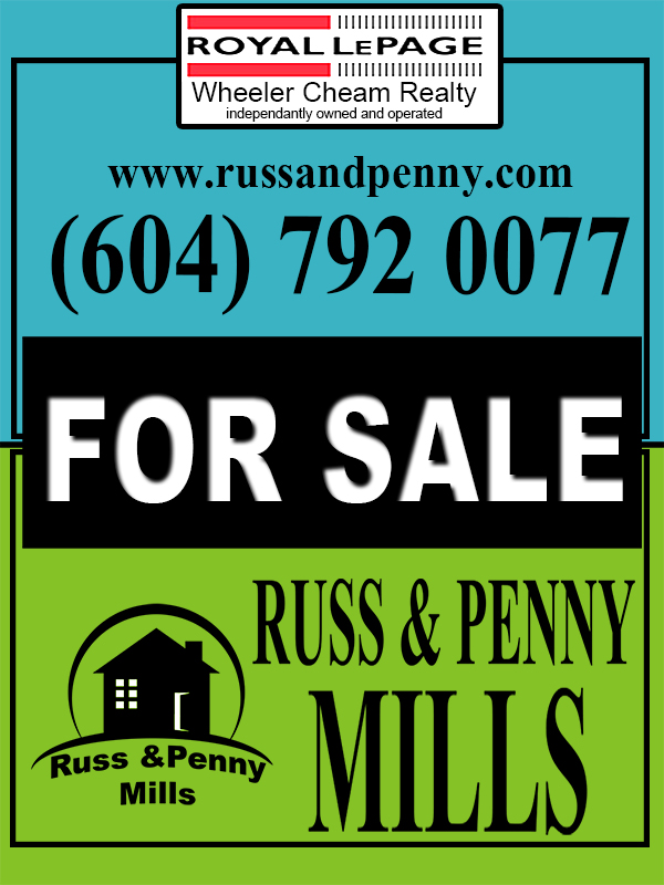 Custom Design by Mythos Designs - Entry No. 83 in the Custom Design Contest Fun Custom Design for Russ and Penny Mills (realtors).