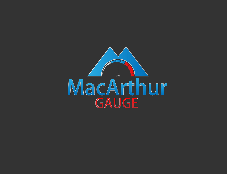 Logo Design by 3draw - Entry No. 232 in the Logo Design Contest Fun Logo Design for MacArthur Gauge.