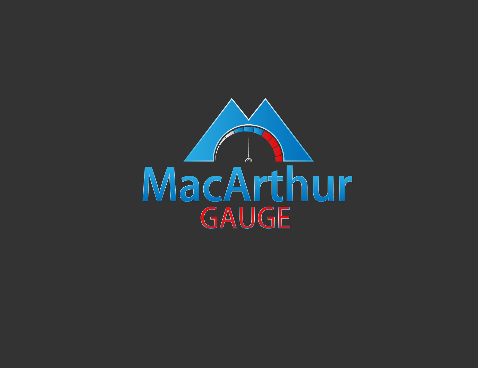 Logo Design by 3draw - Entry No. 233 in the Logo Design Contest Fun Logo Design for MacArthur Gauge.