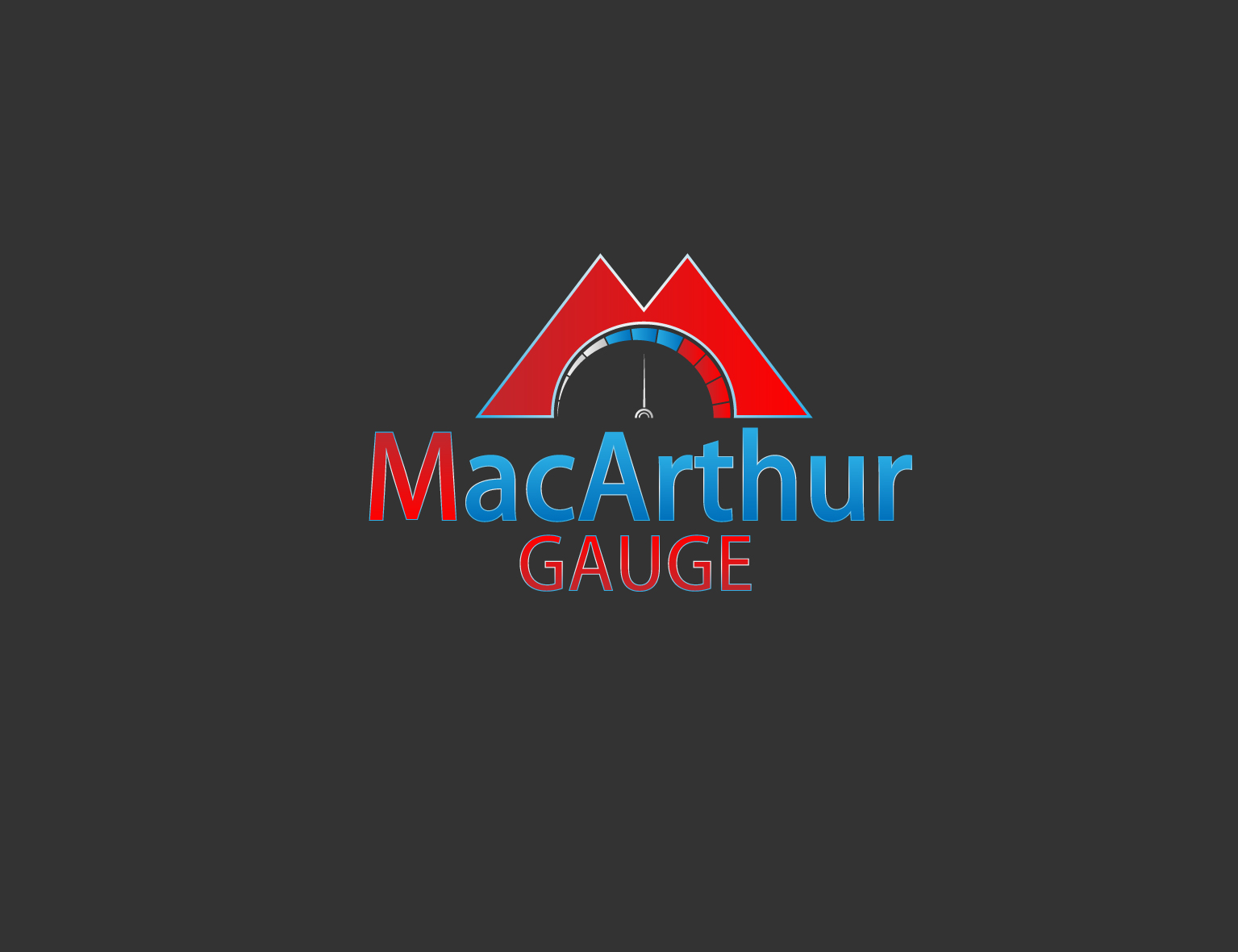 Logo Design by 3draw - Entry No. 234 in the Logo Design Contest Fun Logo Design for MacArthur Gauge.