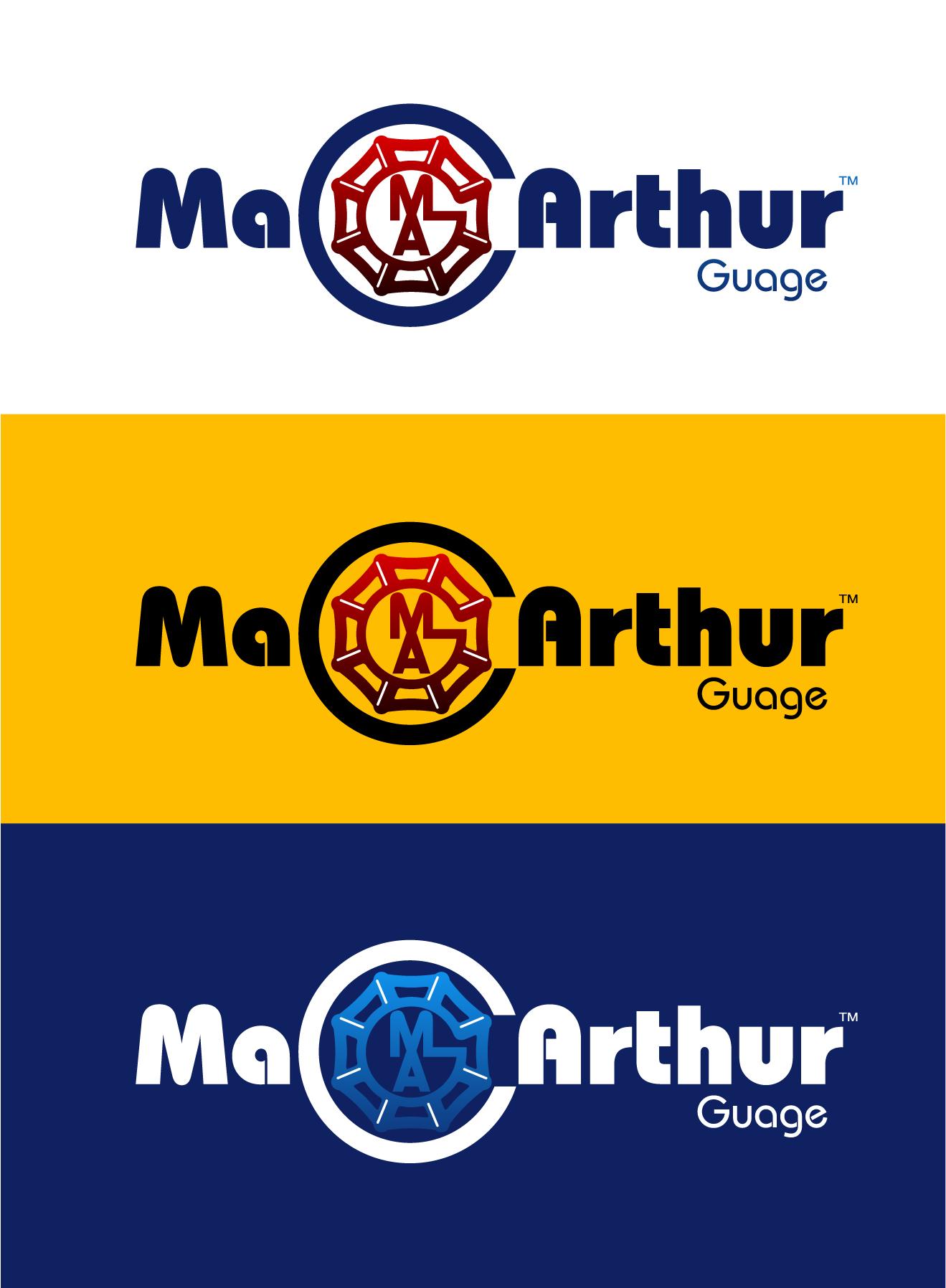Logo Design by Wilfredo Mendoza - Entry No. 236 in the Logo Design Contest Fun Logo Design for MacArthur Gauge.