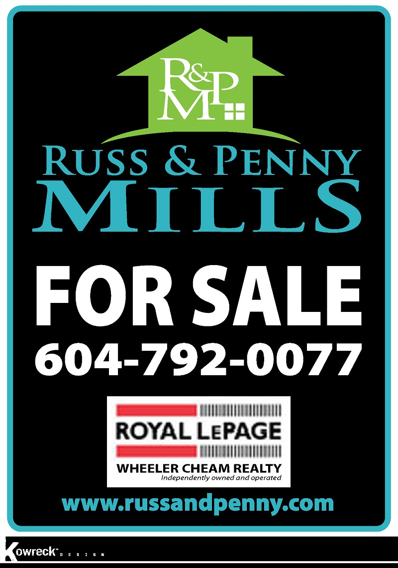 Custom Design by kowreck - Entry No. 99 in the Custom Design Contest Fun Custom Design for Russ and Penny Mills (realtors).
