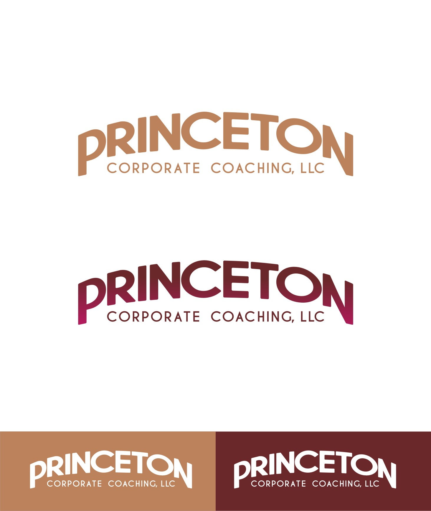 Logo Design by Private User - Entry No. 155 in the Logo Design Contest Unique Logo Design Wanted for Princeton Corporate Coaching, LLC.