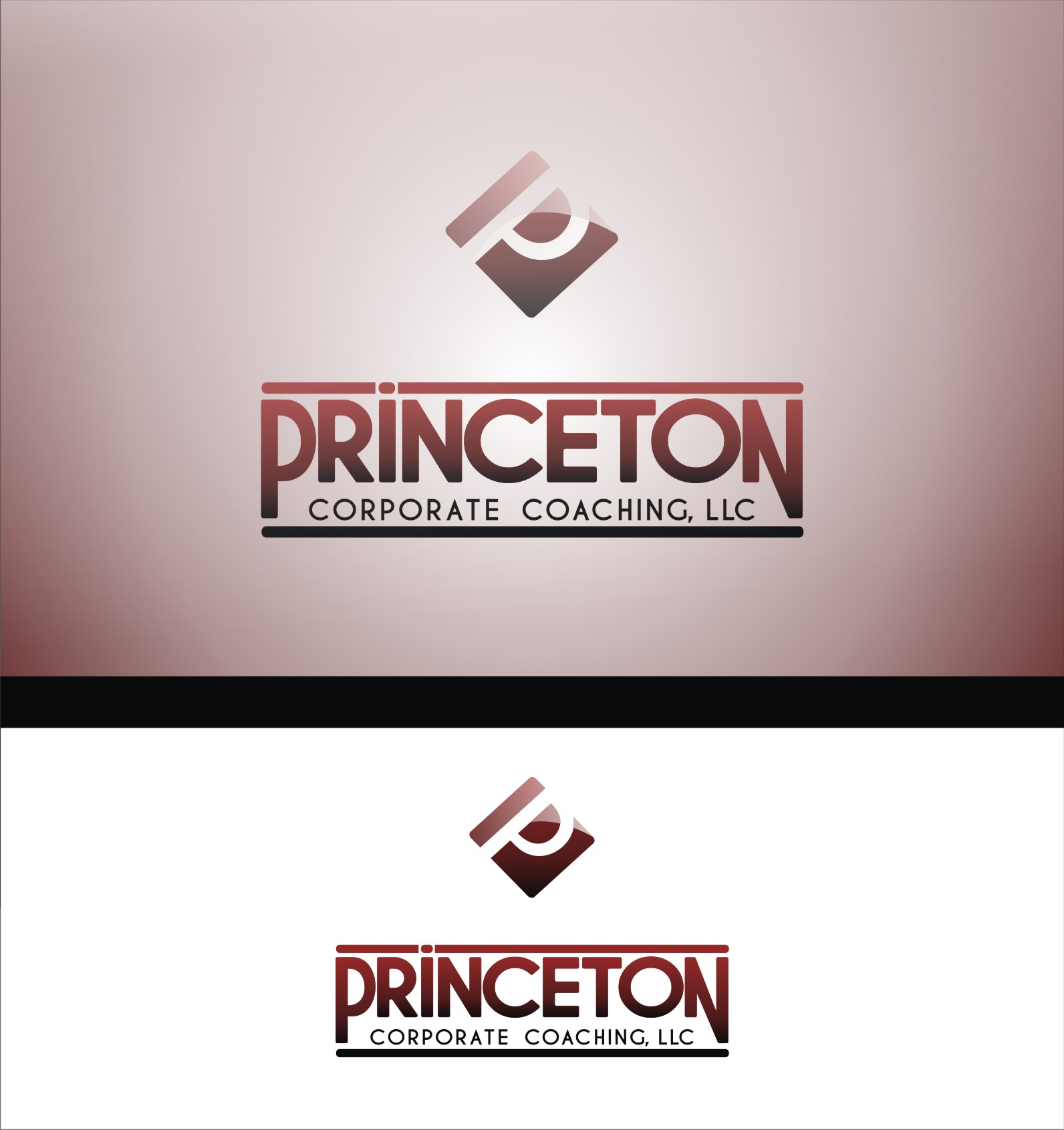 Logo Design by Private User - Entry No. 159 in the Logo Design Contest Unique Logo Design Wanted for Princeton Corporate Coaching, LLC.