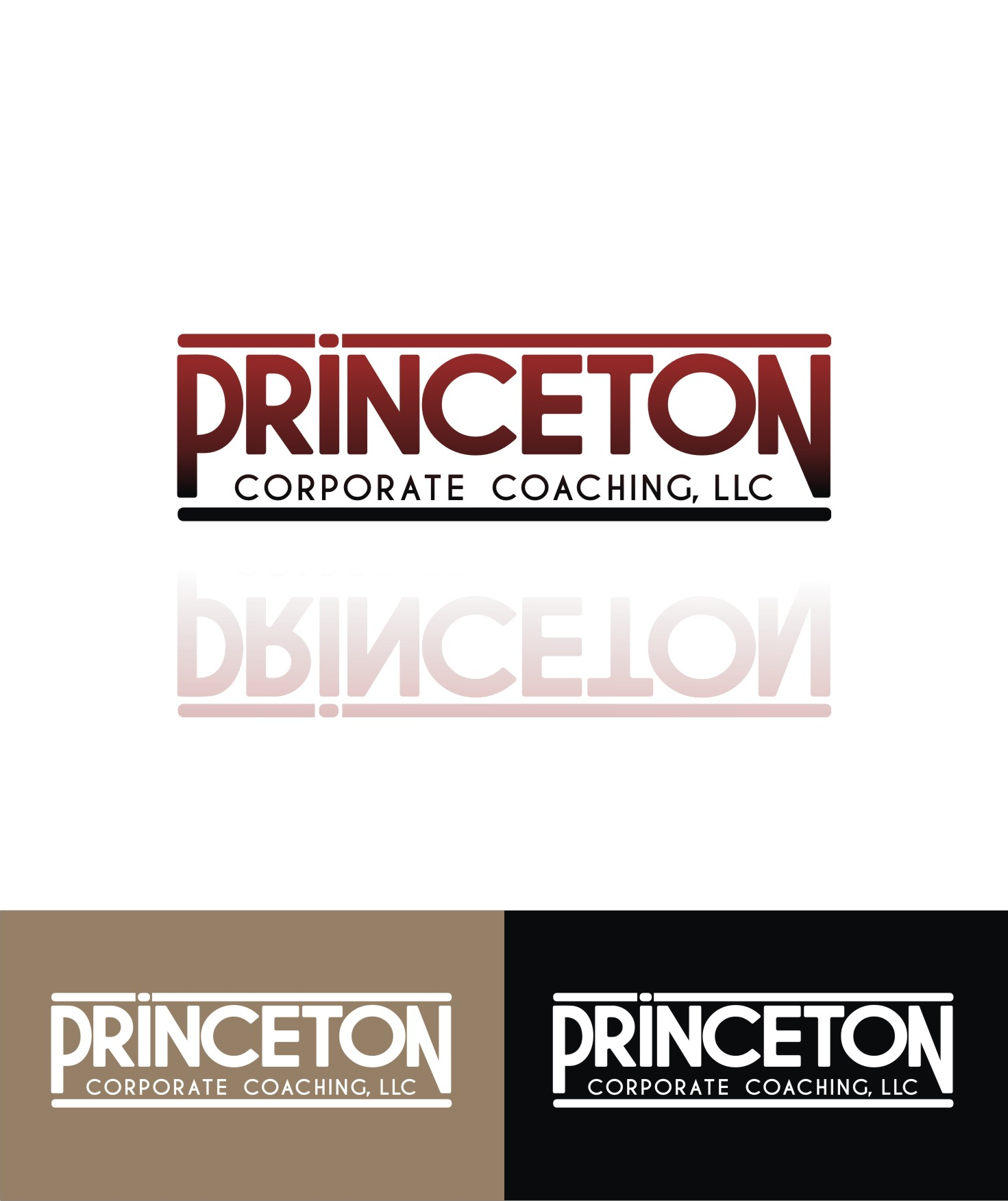 Logo Design by Private User - Entry No. 160 in the Logo Design Contest Unique Logo Design Wanted for Princeton Corporate Coaching, LLC.