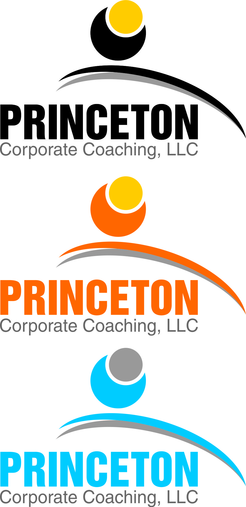 Logo Design by Private User - Entry No. 163 in the Logo Design Contest Unique Logo Design Wanted for Princeton Corporate Coaching, LLC.