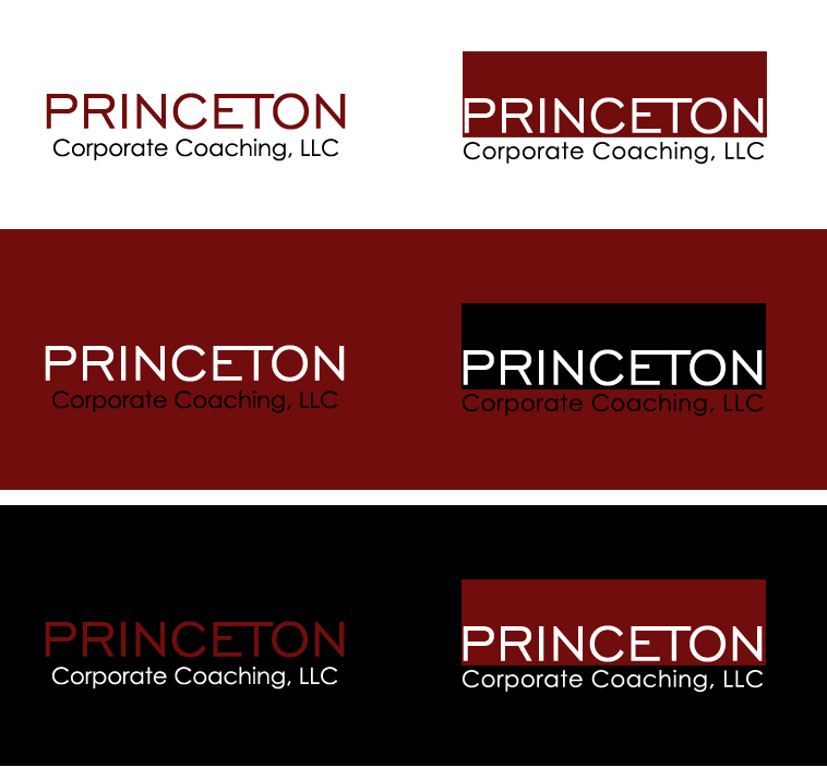Logo Design by elmd - Entry No. 176 in the Logo Design Contest Unique Logo Design Wanted for Princeton Corporate Coaching, LLC.