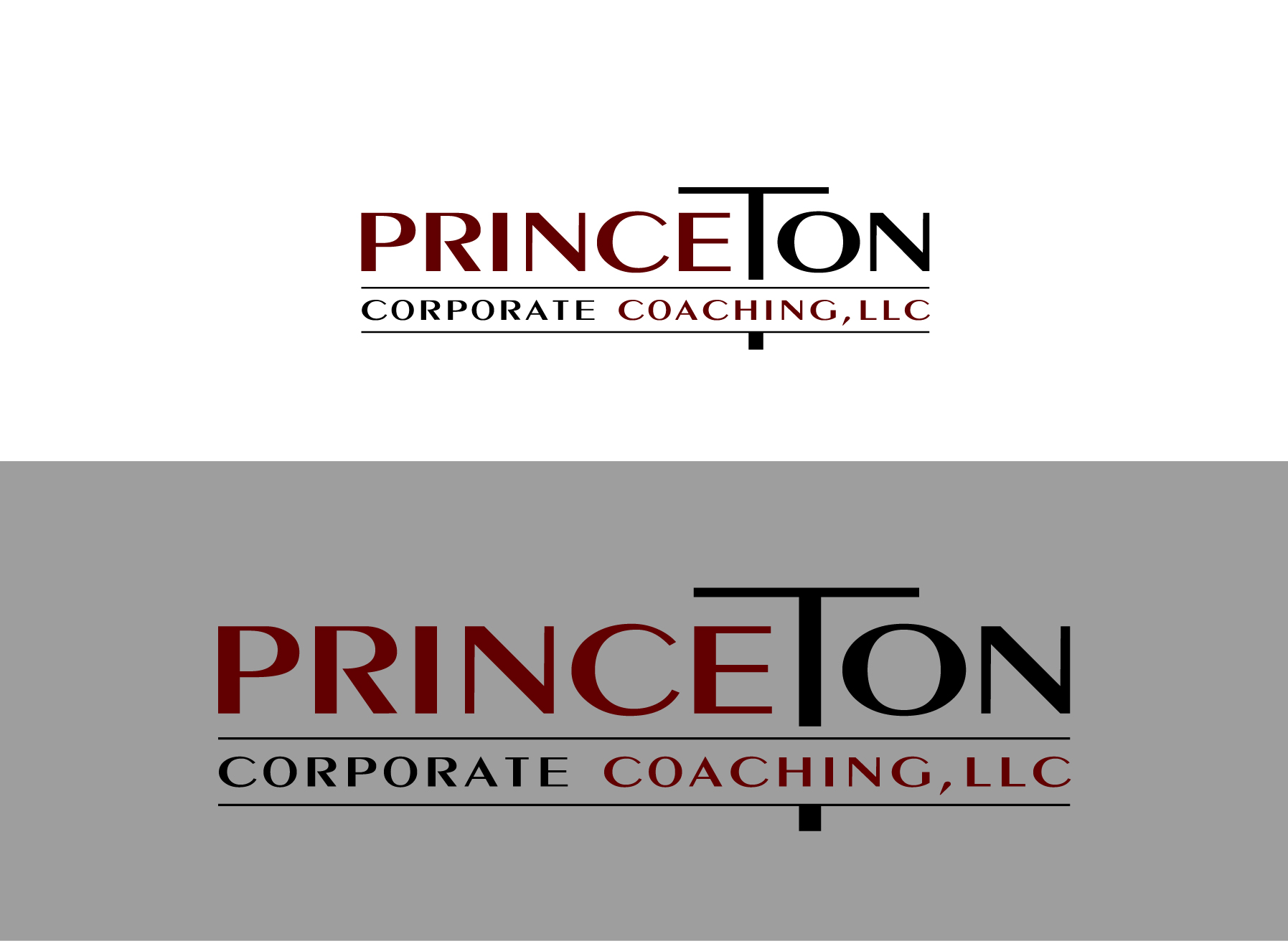 Logo Design by Wilfredo Mendoza - Entry No. 197 in the Logo Design Contest Unique Logo Design Wanted for Princeton Corporate Coaching, LLC.