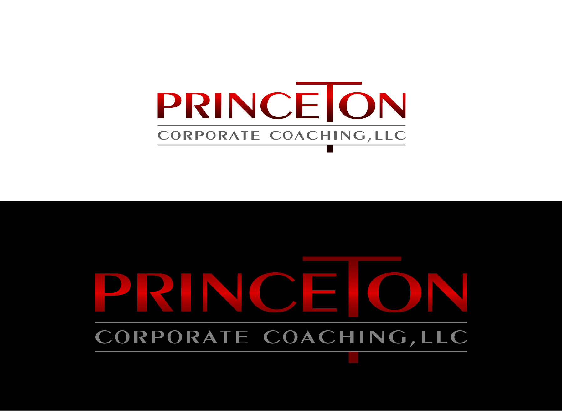 Logo Design by Wilfredo Mendoza - Entry No. 198 in the Logo Design Contest Unique Logo Design Wanted for Princeton Corporate Coaching, LLC.