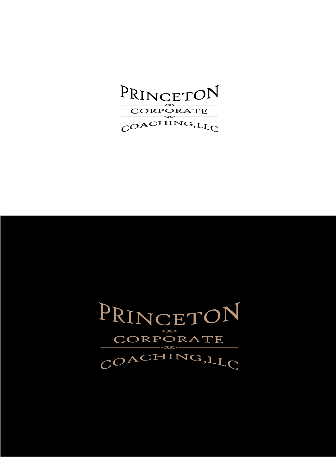 Logo Design by Wilfredo Mendoza - Entry No. 215 in the Logo Design Contest Unique Logo Design Wanted for Princeton Corporate Coaching, LLC.